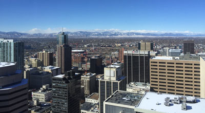 View from hotel in Denver at annual meeting